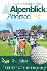Aktivhotel Alpenblick - Golf am Attersee - auf 13 nahen Golfplätzen